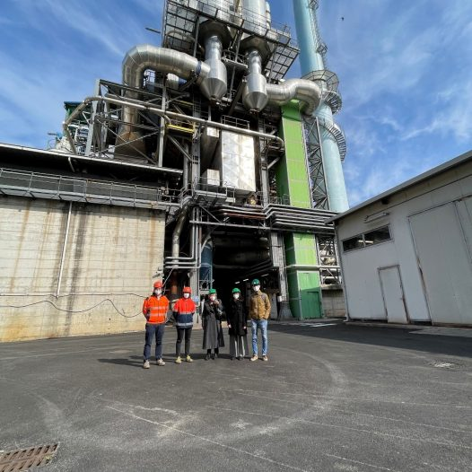 GASP visit to the Como Waste-to-Energy plant